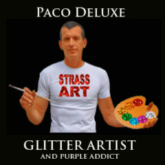 GLITTER PAINTING by Paco Deluxe